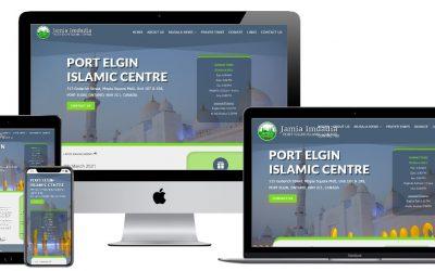 Port Elgin Musala's New Website